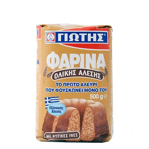 Jotis Farina Whole Meal Flour - 500gr