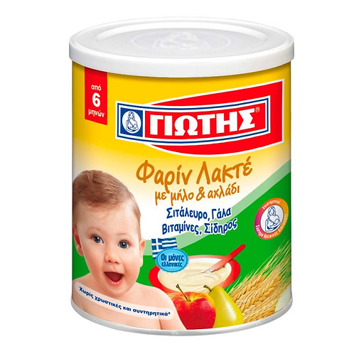Jotis Cereal Farin Lacte Apple & Pear - 300gr