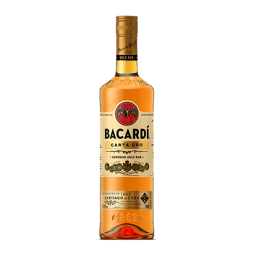 Bacardi Carta Oro Gold Rum - 700ml
