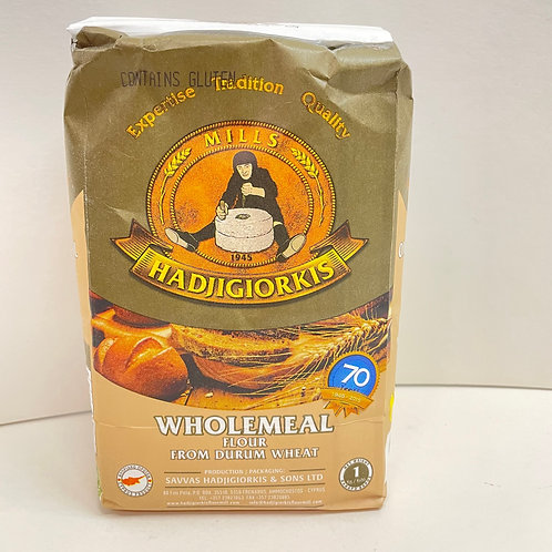 HadjiGiorkis Wholemeal Flour - 1kg