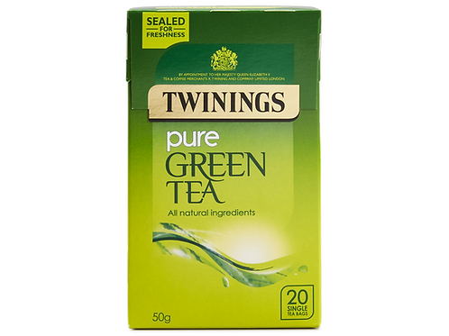 Twinings Pure Green Tea 20s - Pack
