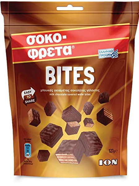 ION Chocofreta Bites - 127gr