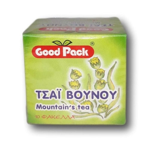 GoodPack Mountain Tea 10's - Pack