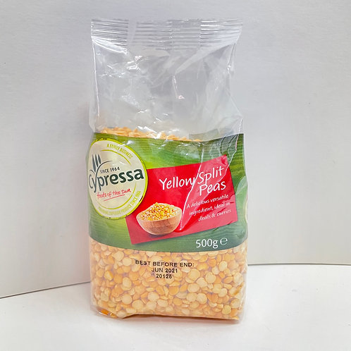 Cypressa Yellow Split Peas - 500gr