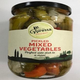 Cypressa Pickled Mix Vegetables - 700gr