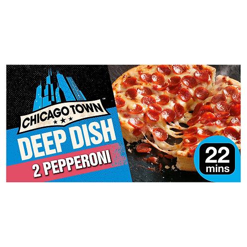 Chicago Town Deep Pepperoni Pizza 415gr