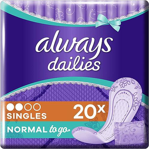 Always Dailies Normal - Pack-20