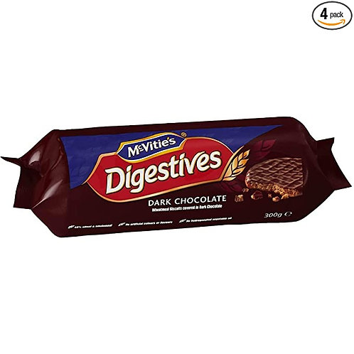 McVities Dark chocolate  Digestive - 266gr