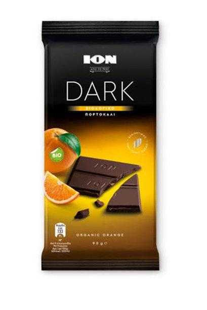 ION Dark Chocolate Orange - 90gr