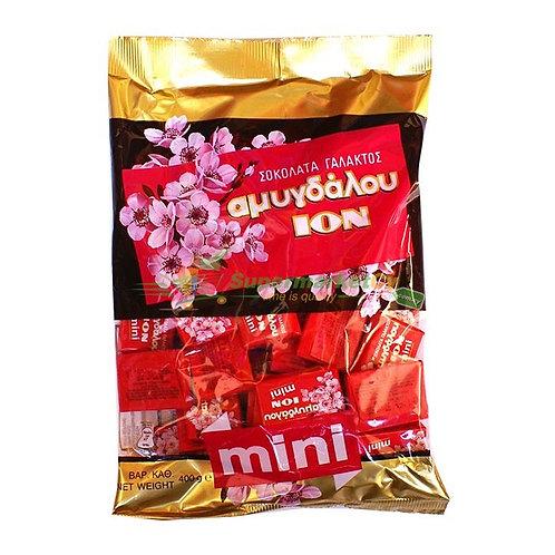 ION Mini Milk choco almonds - 400gr