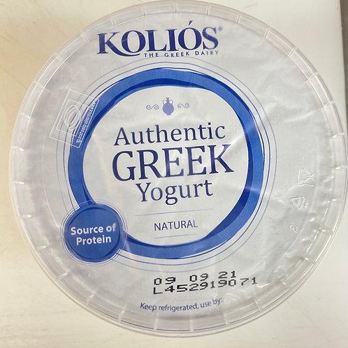 Kolios Greek Strained Yogurt 10% - 500gr