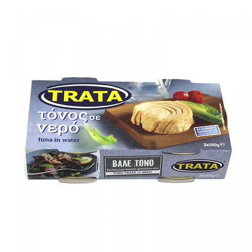 Trata Tuna in water 2x160gr