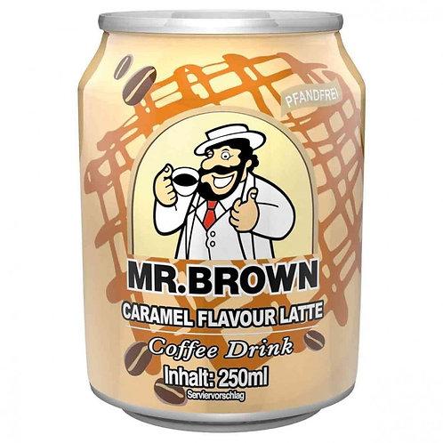 Mr. Brown Caramel Latte - 240ml