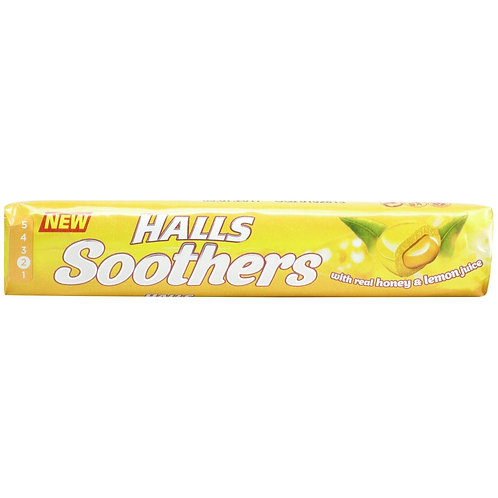 Halls Soothers Honey&lemon - 45gr