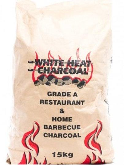 White heat 15kg bag charcoal