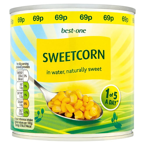 Best-one Sweet Corn - 340G