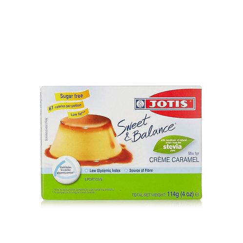 Jotis Sweet&Balance Cream Caramel Dess. - 114gr