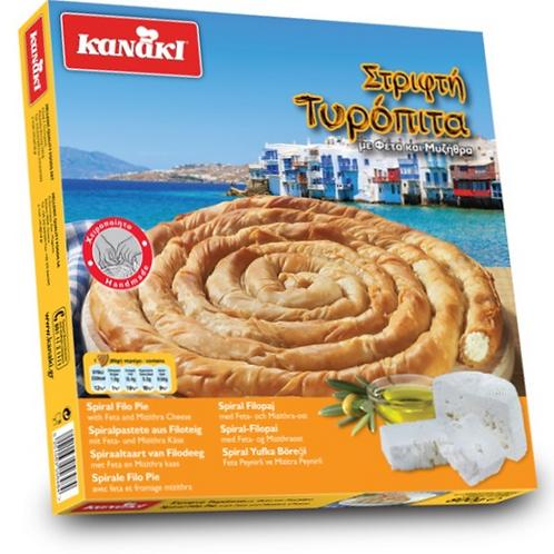 Kanaki Twist Cheese pie - 800gr