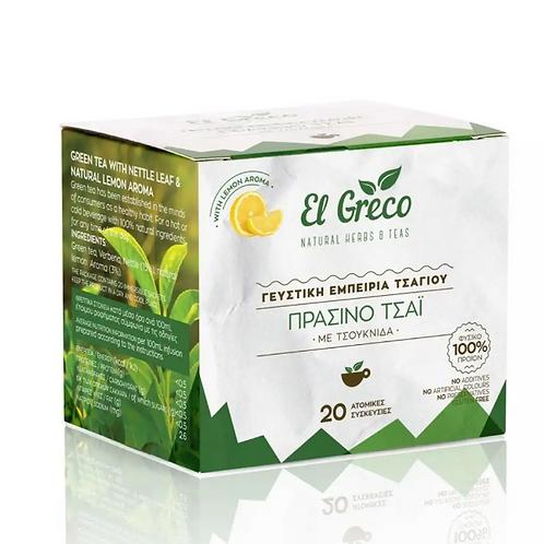 El Greco Green tea - Pack-20