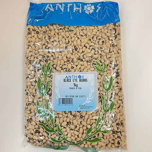Anthos Black Eye Beans - 1kg