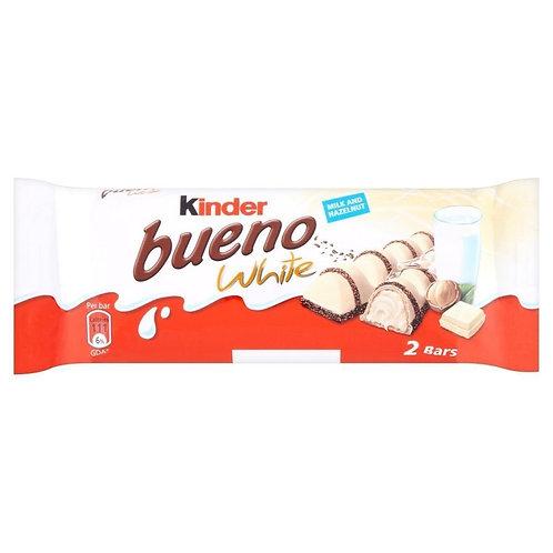 Kinder Bueno white 2bars - 43gr