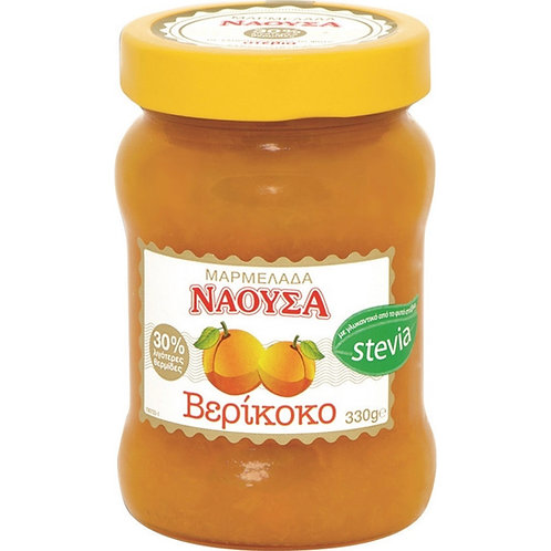 Naoussa Apricot Jam Stevia 330gr
