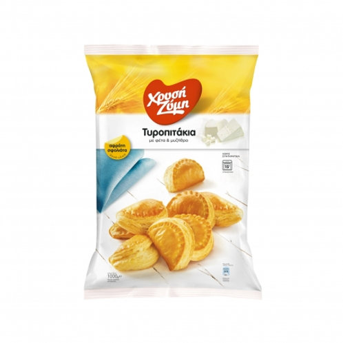 Xrysi Zymi Mini Puff cheese pies - 1kg