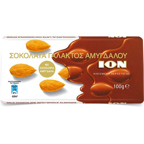 ION Praline with almonds - 100gr