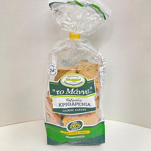 Manna Cretan Mini Barley rusks - 400gr