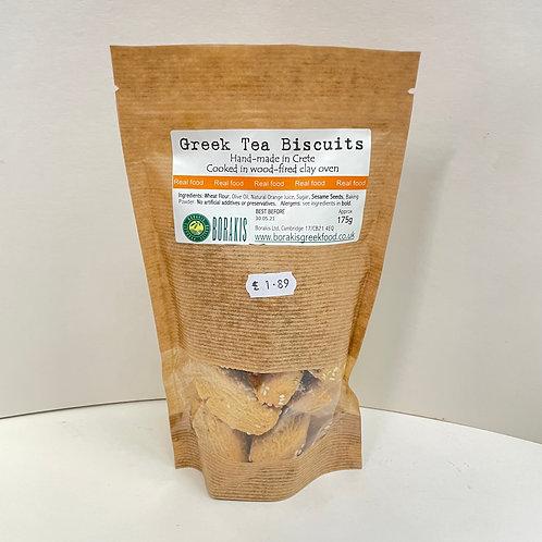 Borakis Tea biscuits - 175gr