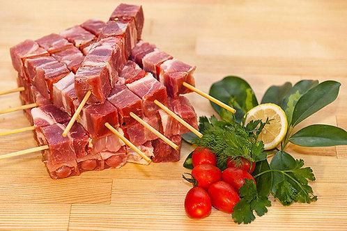 Kreka Souvlaki Pork frozen - kg