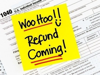Getting a Tax Refund in 2018? Here are some great ideas on how to spend it.