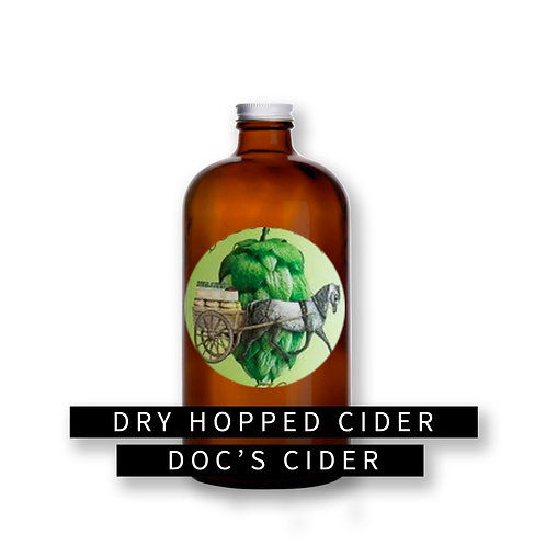 Doc's Dry Hopped Cider 32oz Growler