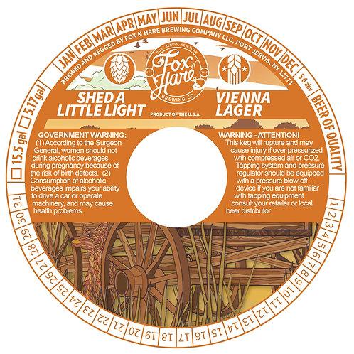 1/6 BBL Keg Shed A Little Light