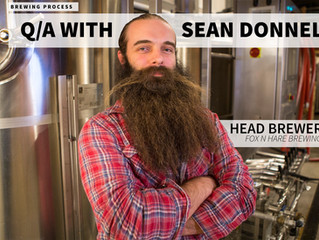 BREWING PROGRAM @ Fox N Hare - Q&A w/ Head Brewer Sean Donnelly