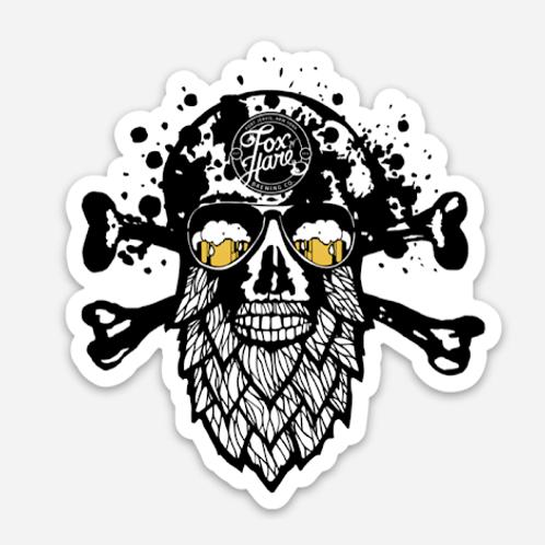 Hop Head Sticker