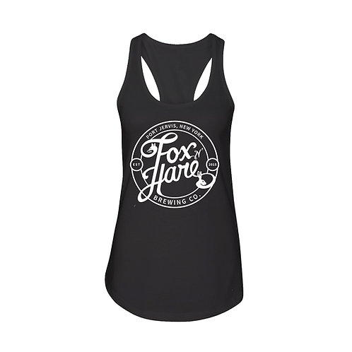 Fox N Hare Logo Tank (Black)
