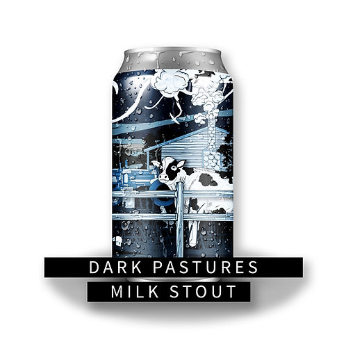 Dark Pastures Milk Stout 32oz Crowler