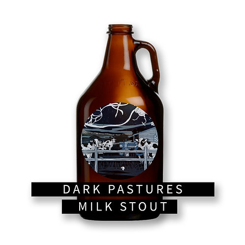 Dark Pastures Milk Stout 64oz