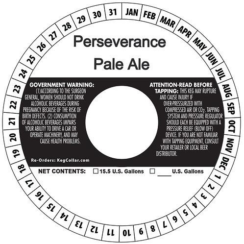 1/6 BBL Keg Perseverance Pale Ale