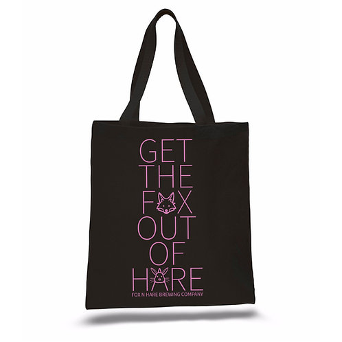 Get The Fox Out Of Hare Tote Bag