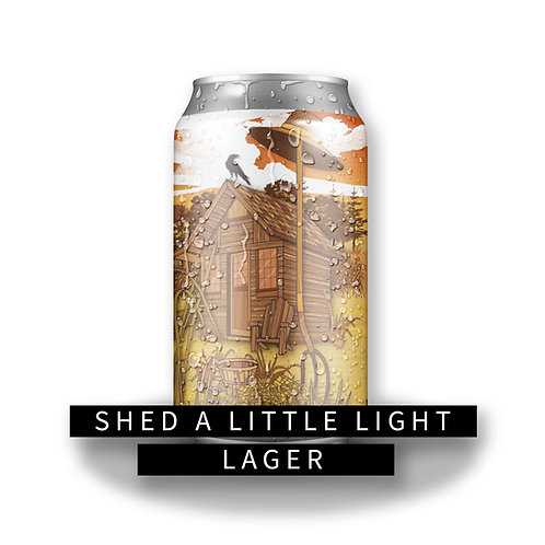 Shed a Little Light 32oz Crowler