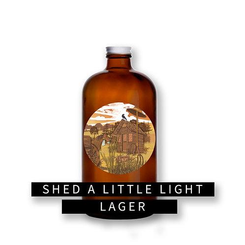 Shed a Little Light 32oz Growler