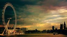 Strolling in freedom through London