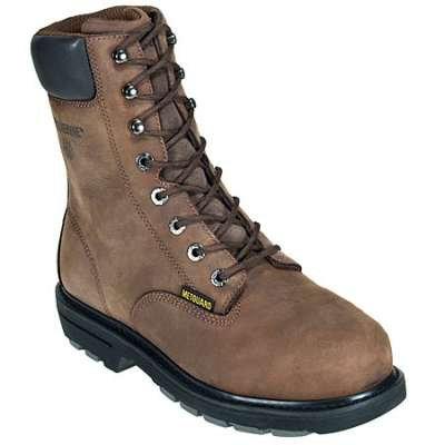 """Wolverine Boots- MCKAY 5680 8"""" Met Guard Steel TOE Boots"""