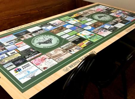 Go See Benny Bob's New Tables