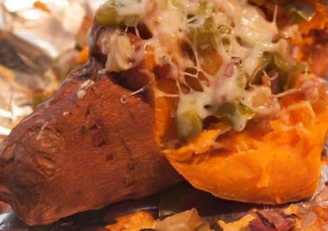 Slow Smoked Sweet Potato - 4