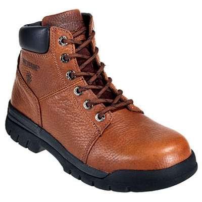 Wolverine Boots: Men's 4713 Steel TOE Slip Resistant Work Boots