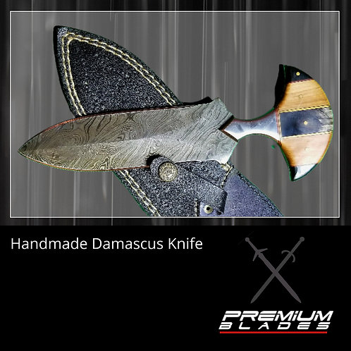Handcrafted Damascus Blade 2
