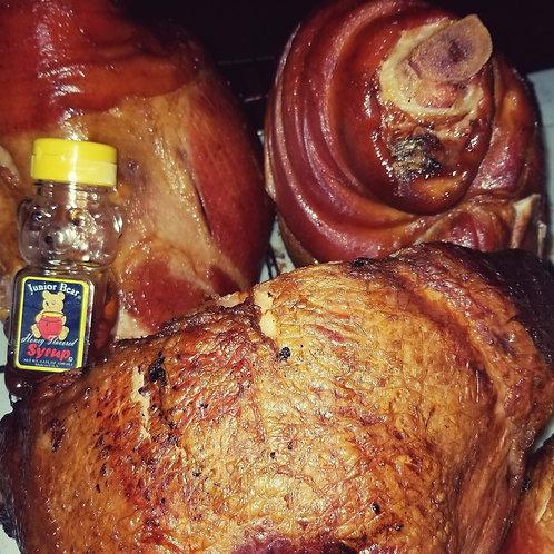 Double Smoked Honey Glazed Ham
